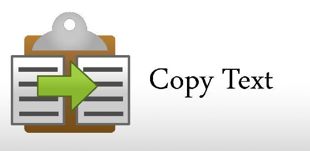 copiare testo sito bloccato